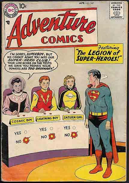 Legion of Super-Heroes #15 1991 FN Stock Image 4th Series