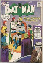 BATMAN #125 VG