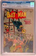 BATMAN #86 CGC 4.5 (VG+)