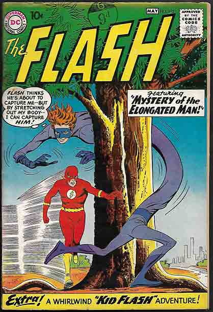 American Update Dc Debuts 1st Kid Flash Elongated Man And