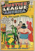 JUSTICE LEAGUE OF AMERICA #7 GD+