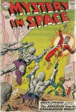 MYSTERY IN SPACE #54 VG/FN
