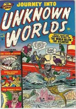 JOURNEY INTO UNKNOWN WORLDS #6 FN+