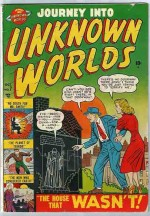 JOURNEY INTO UNKNOWN WORLDS #7 FN-