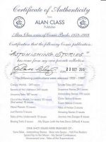 EXAMPLE OF AN ALAN CLASS CERTIFICATE