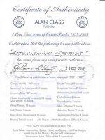 EXAMPLE OF AN ALAN CLASS CERTIFICATE