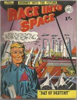 RACE INTO SPACE NN (#1) VG/FN